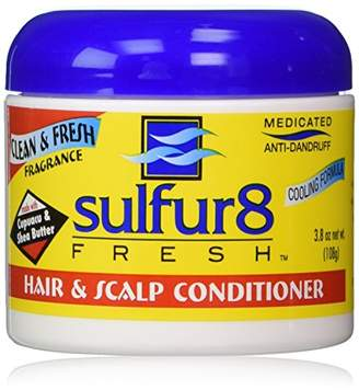Sulfur8 Sulfur 8 Fresh Medicated Anti-dandruff Hair & Scalp Conditioner 4 Oz (3.8 oz net wt.)