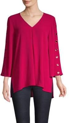 Spense V-Neck Pullover Top