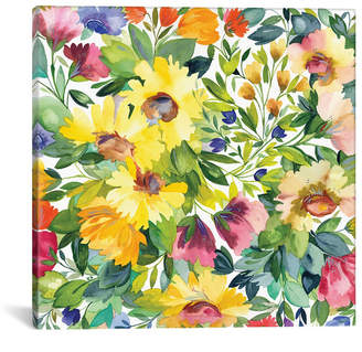 "iCanvas Lydia Garden"" By Kim Parker Gallery-Wrapped Canvas Print - 37"" x 37"" x 0.75"""
