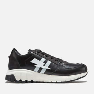 Men's Eccentrica Trainers Black/White