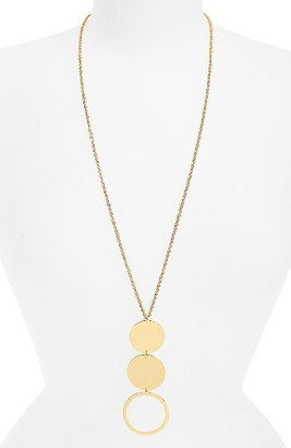Women's Argento Vivo Three-Disc Pendant Necklace $60 thestylecure.com