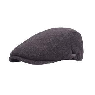 2ff2711d87faa Belt Bear Men s Cotton Adjustable Newsboy Cap Beret Hat Duckbill Hat