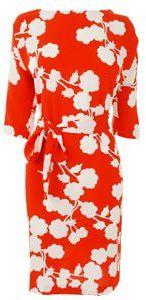 Diane Von Furstenberg Floral Print Maja Dress