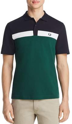 Fred Perry Color-Block Piqué Classic Fit Polo Shirt