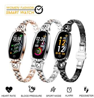 Bakeey Women Fashion Waterproof h Smart Watches Bracelet Watch Lady Smartwrist Gifts for Android&iOS