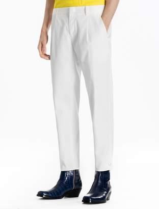 Calvin Klein cotton snap woven pants