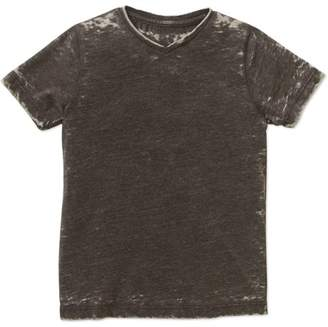 Troy James Genevieve Goings Collection Boys' Burn Out Tee, Available in Size 6/7-10
