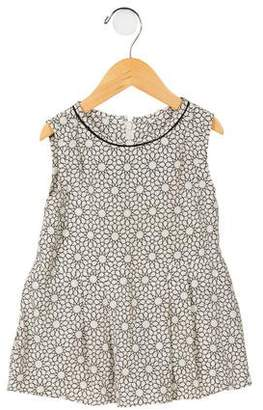 Marni Junior Girls' Sleeveless Printed Blouse