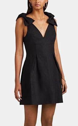 Zimmermann Women's Corsage Linen A-Line Dress - Black