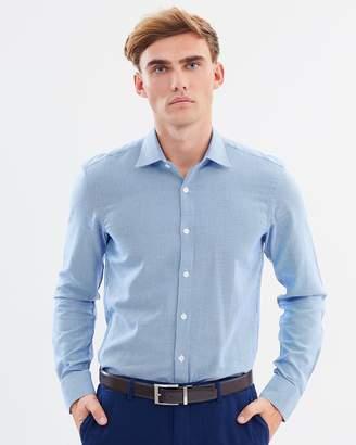 Brooksfield Career Triangle Dobby Shirt