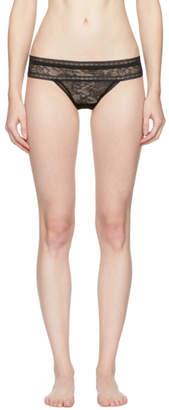 Calvin Klein Underwear Black Obsess Thong