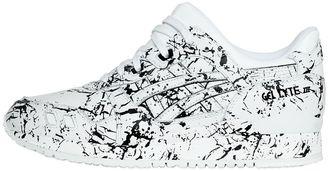 Gel-Lyte Iii Marble Leather Sneakers $174 thestylecure.com