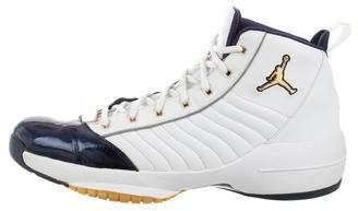 Nike Jordan 19 SE Quilted Leather Sneakers