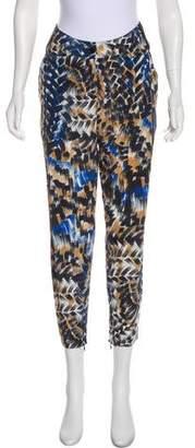 Barbara Bui High-Rise Silk Pants