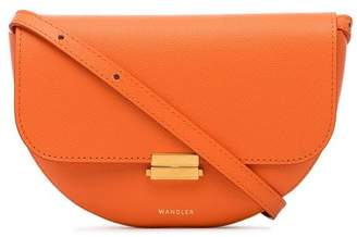 Wandler Orange Anna Big leather belt bag