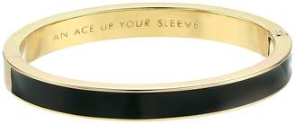 Kate Spade Idiom Bangles Ace Up Your Sleeve - Hinged