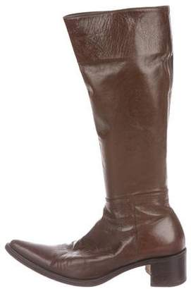 Rocco P. Leather Knee-High Boots