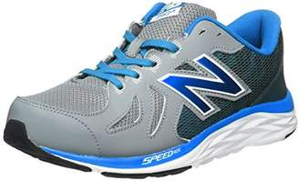 New Balance (ニュー バランス) - [ニューバランス] new balance 運動靴 KJ790 (16秋冬) KJ790 (16秋冬) GMY (グレー/パープル(GMY)/17.5)