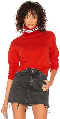 MSGM College Stripes Sweatshirt