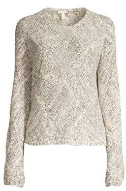 Eileen Fisher Organic Cotton Knit Sweater