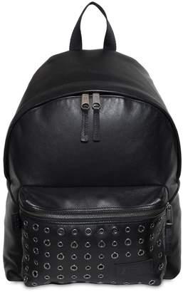 Eastpak 24l Padded Pak'r Eyelet Leather Backpack