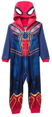 Spiderman AME Hooded Fleece Sleeper (Little Boys & Big Boys)