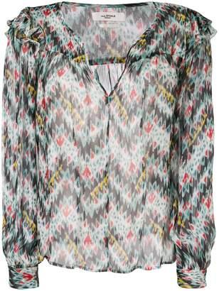 Etoile Isabel Marant patterned blouse