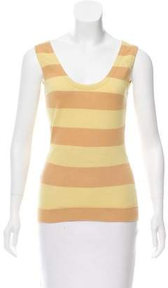 Louis Vuitton Cashmere-Blend Sleeveless Top