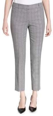 Calvin Klein Petite Plaid Suit Pants
