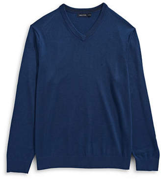 Nautica Big and Tall V-Neck Sweater