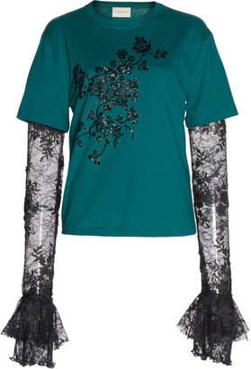 Giuseppe di Morabito Embroidered T-Shirt
