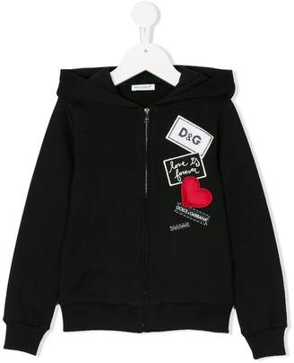 Dolce & Gabbana Love Is Forever jacket
