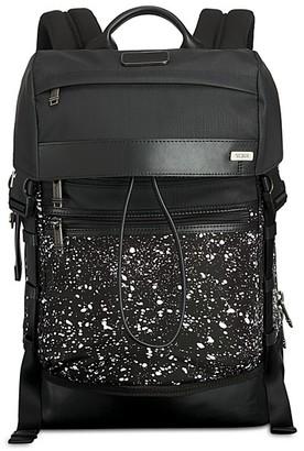 Tumi Alpha Bravo Kinser Flap Backpack $365 thestylecure.com