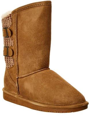 BearPaw Girls' Boshie Suede Boot