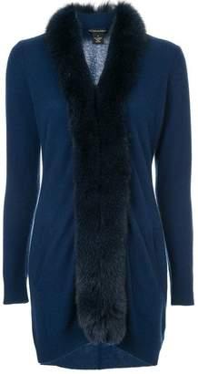 Sofia Cashmere loose elongated cardi-coat