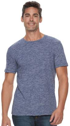Marc Anthony Men's Slim-Fit Shadow Dye Marled Crewneck Tee