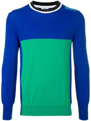 Kenzo colour block sweater