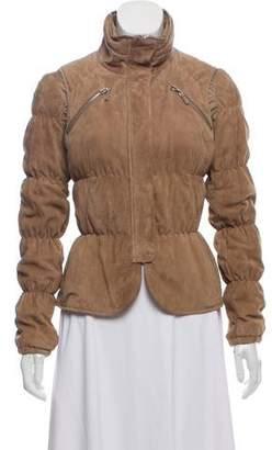 Brunello Cucinelli Layered Suede Jacket