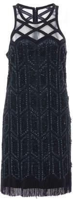 Joanna Mastroianni Deco Embroidered Flapper Dress