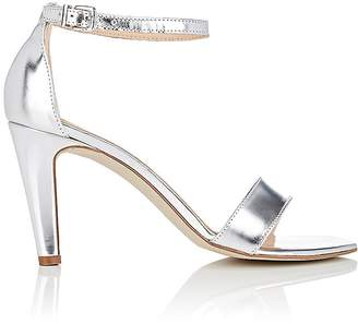Barneys New York BARNEYS NEW YORK WOMEN'S SPECCHIO LEATHER ANKLE-STRAP SANDALS $325 thestylecure.com