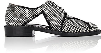 Robert Clergerie ROBERT CLERGERIE WOMEN'S JOFRE STAMPED-LEATHER OXFORDS $750 thestylecure.com
