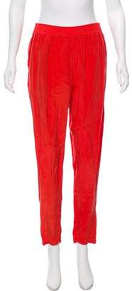 Enza Costa High-Rise Pants
