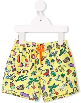 Stella McCartney cartoon print swim shorts