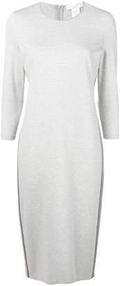Fabiana Filippi bead-embellished jersey dress