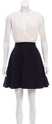 Alice + Olivia Sleeveless Cutout Dress