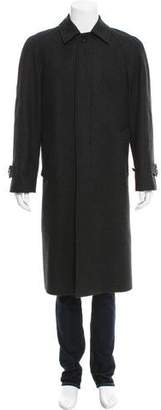 Burberry Wool Car Coat