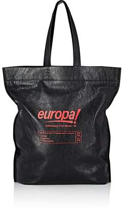 Balenciaga Men's Supermarket Shopper L Leather Tote Bag
