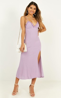 Showpo Intrinsic Girl Dress in lilac - 8 (S) Dresses