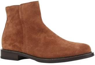 Brunello Cucinelli Suede Zipped Chelsea Boots