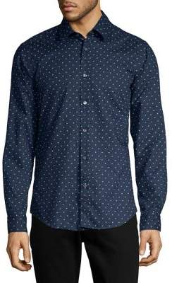 HUGO BOSS Lukas Printed Button-Down Shirt